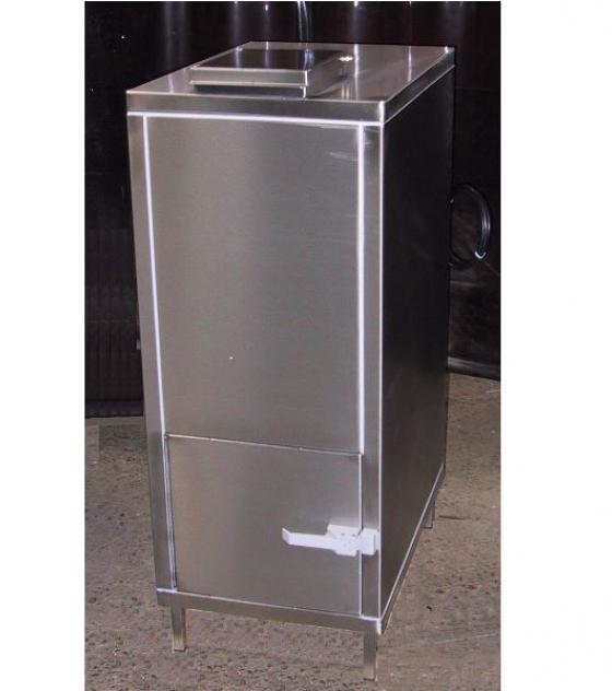 ECS glasvergruizer rvs-luxe