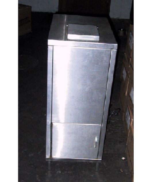 ECS glasvergruizer rvs